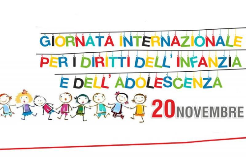 Flash mob per la Convenzione dei diritti dell'infanzia e dell'adolescenza