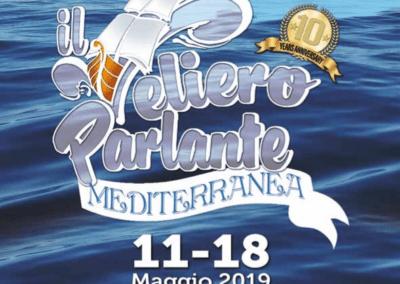 """""""Mediterranea"""": scatti dell'evento promosso alle """"Manifatture Knos"""" dalla rete de """"Il Veliero Parlante"""" – Lecce Maggio 2019"""
